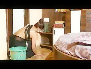 Desi indian hot maid discovers condom n enjoys.mp4