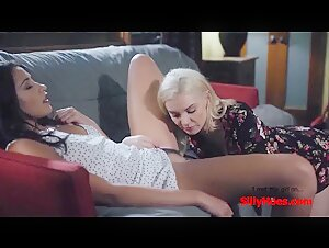 SillyHoes​.​com - Teaching my Friends Daughter how to Masturbate