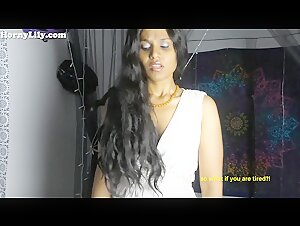 CEI(Cum Eating Instruction) StepSister Roleplay in Hindi (english Subs)